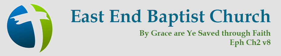 East End Baptist Church Header and Logo